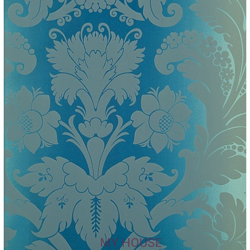 Обои Nureyev Wallpaper NUP01001 Villiers-Blue Zoffany