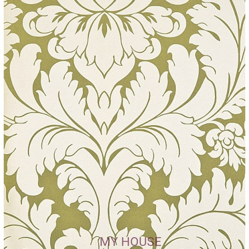 Обои Nureyev Wallpaper NUP03002 Nureyev-Green Zoffany