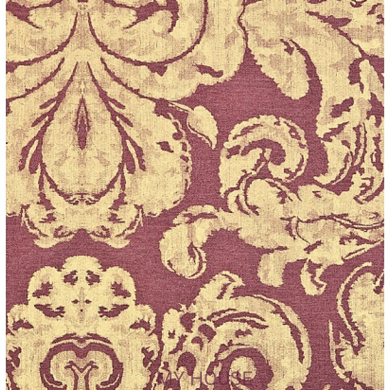 Обои Nureyev Wallpaper NUP06004 Brocatello-Aubergine Zoffany
