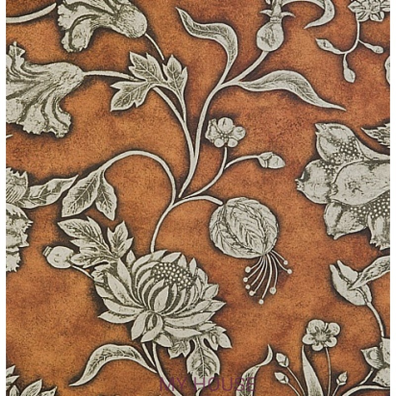 Обои Nureyev Wallpaper NUP07002 St James-Copper Zoffany