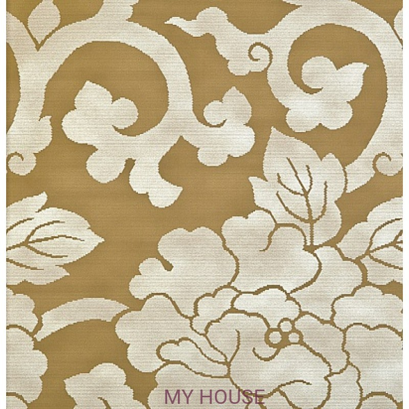 Обои Nureyev Wallpaper NUP08003 Mandarin-Gold Zoffany