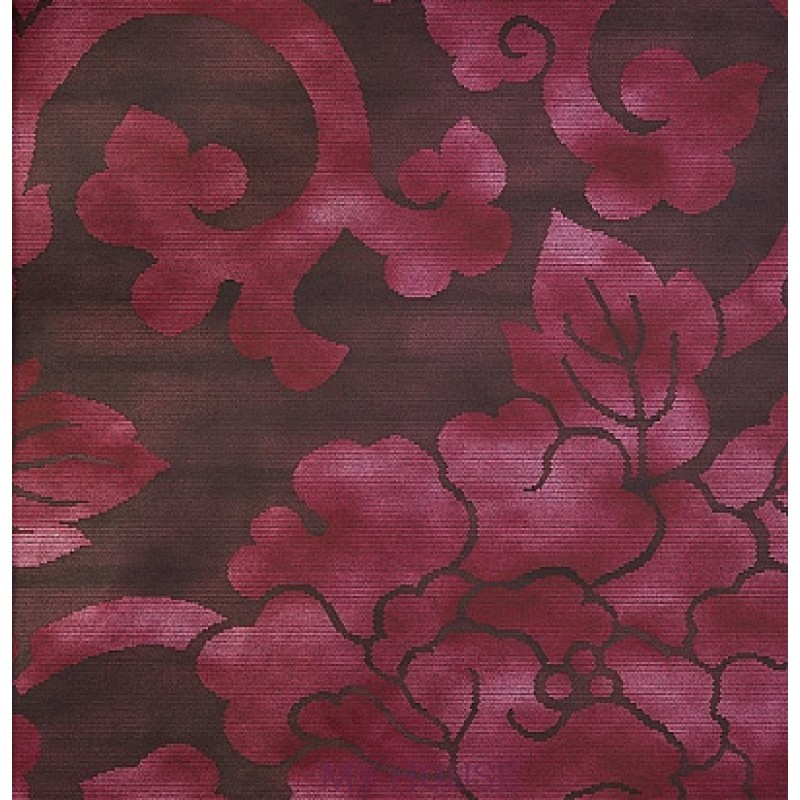 Обои Nureyev Wallpaper NUP08004 Mandarin-Plum Zoffany