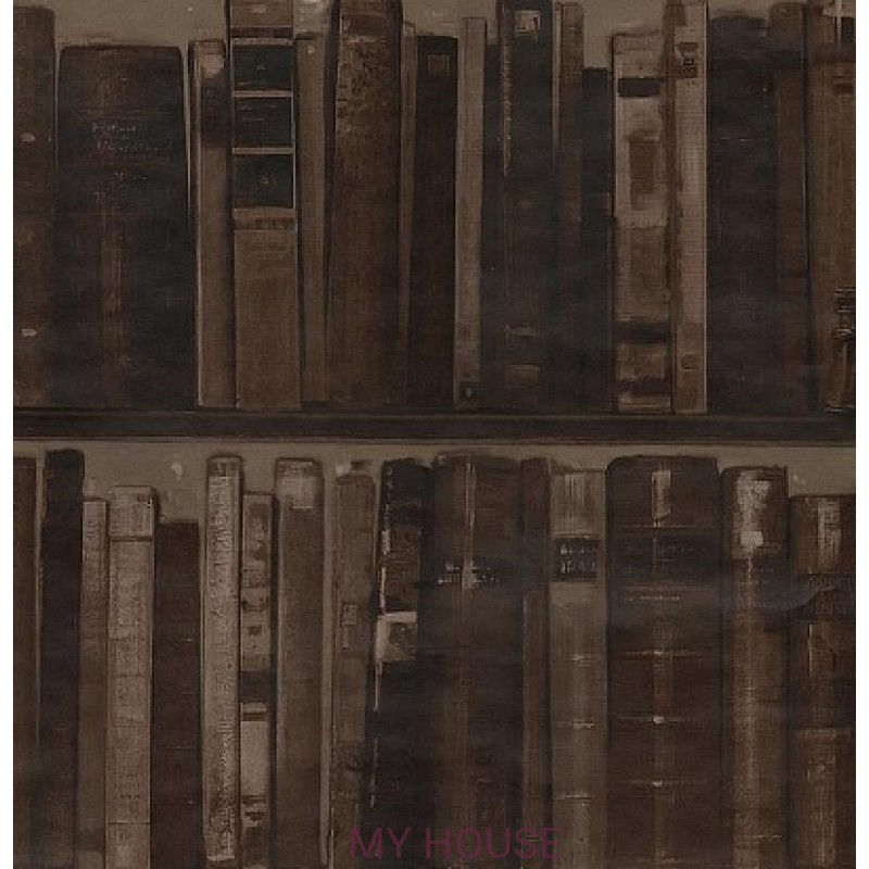 Обои Navigator Library Leather Andrew Martin