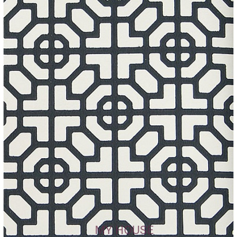 Обои Nabucco P535/13 Sussex Black&White Designers Guild