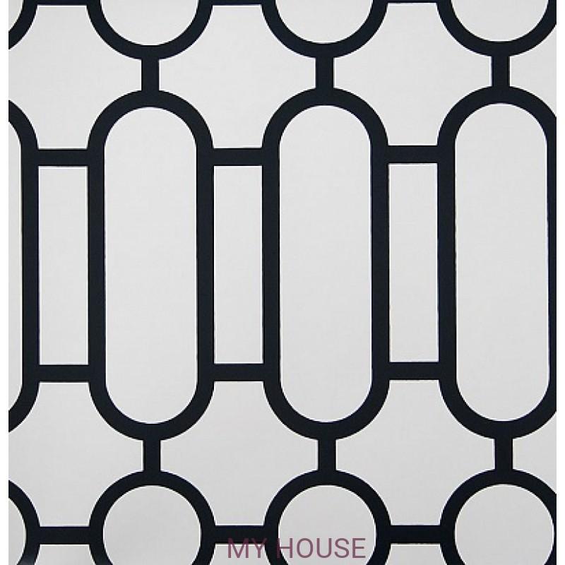 Обои Nabucco P537/03 Porden Black&White Designers Guild