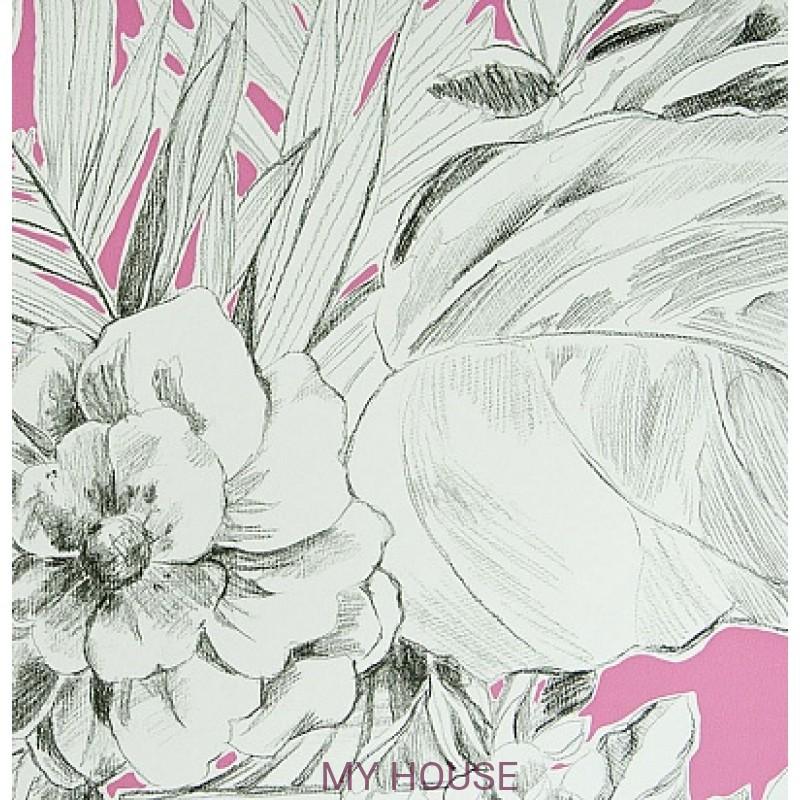 Обои Zephirine P546/08 Palmieri Fuchsia Designers Guild