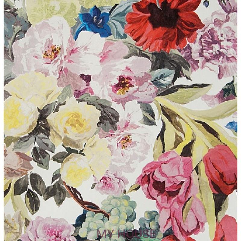Обои Zephirine P550/01 Orangerie Rose Designers Guild