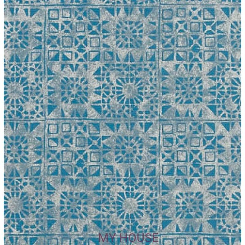 Обои Contarini P605/08 Serego Turquoise Designers Guild