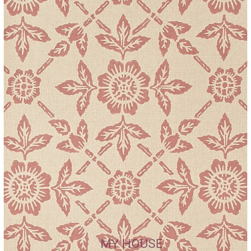 Обои Papered Walls PAW01006 Pergola Rose Zoffany