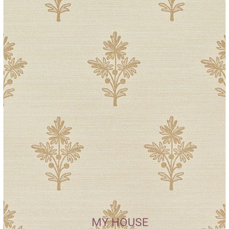 Обои Papered Walls PAW03004 Tussah Flower Cream Zoffany