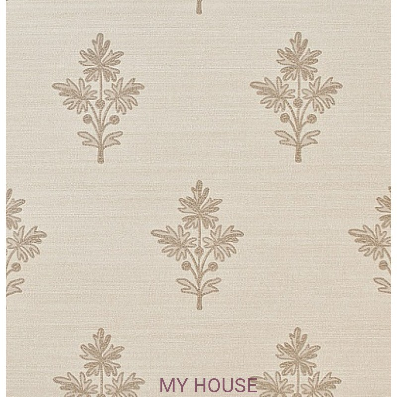 Обои Papered Walls PAW03006 Tussah Flower Oyster Zoffany