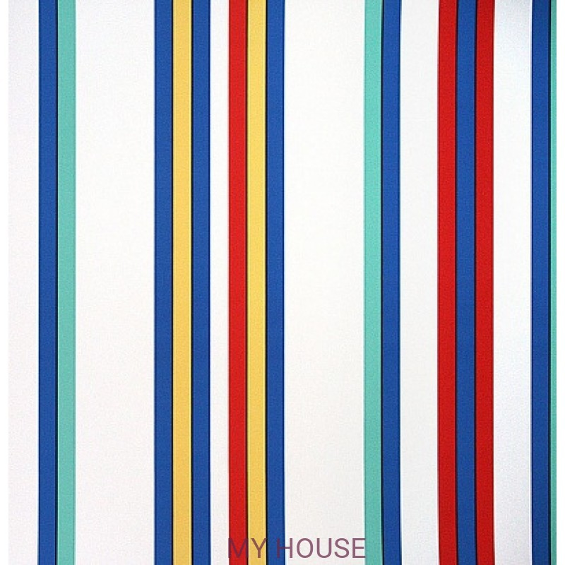 Обои Family Places PLWP-62172 Surfside Stripe - Harbor Ralph Lau