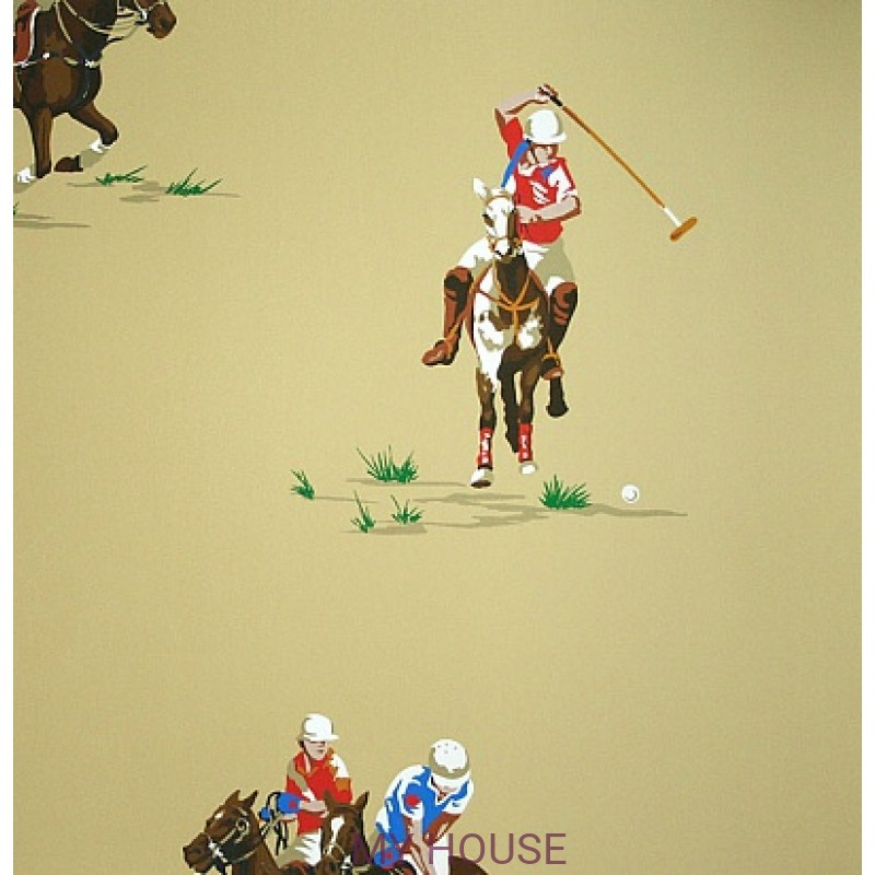 Обои Family Places PLWP-62181 Polo Match Novelty Ralph Lauren