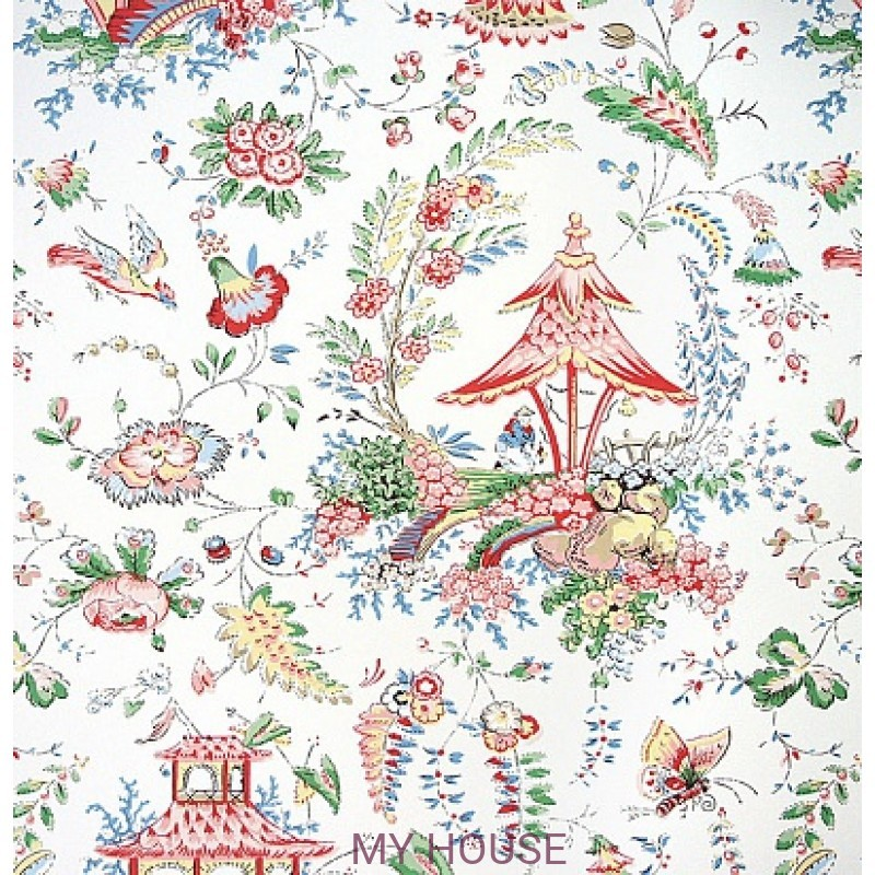 Обои Family Places PLWP-62194 Chinoiserie Garden Ralph Lauren