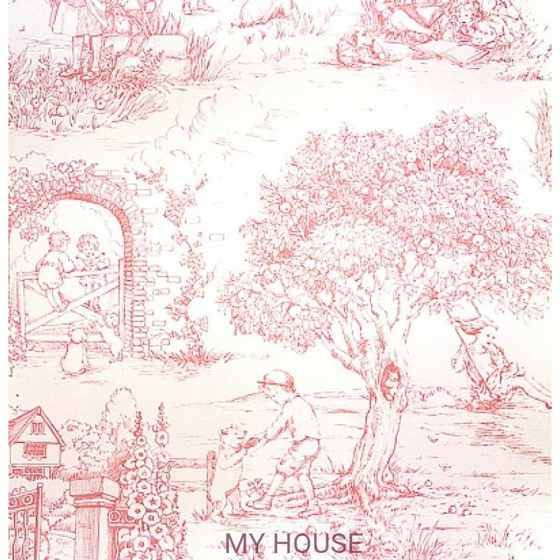 Обои Family Places PLWP-62226 Collection Child's Garden Toile Ra