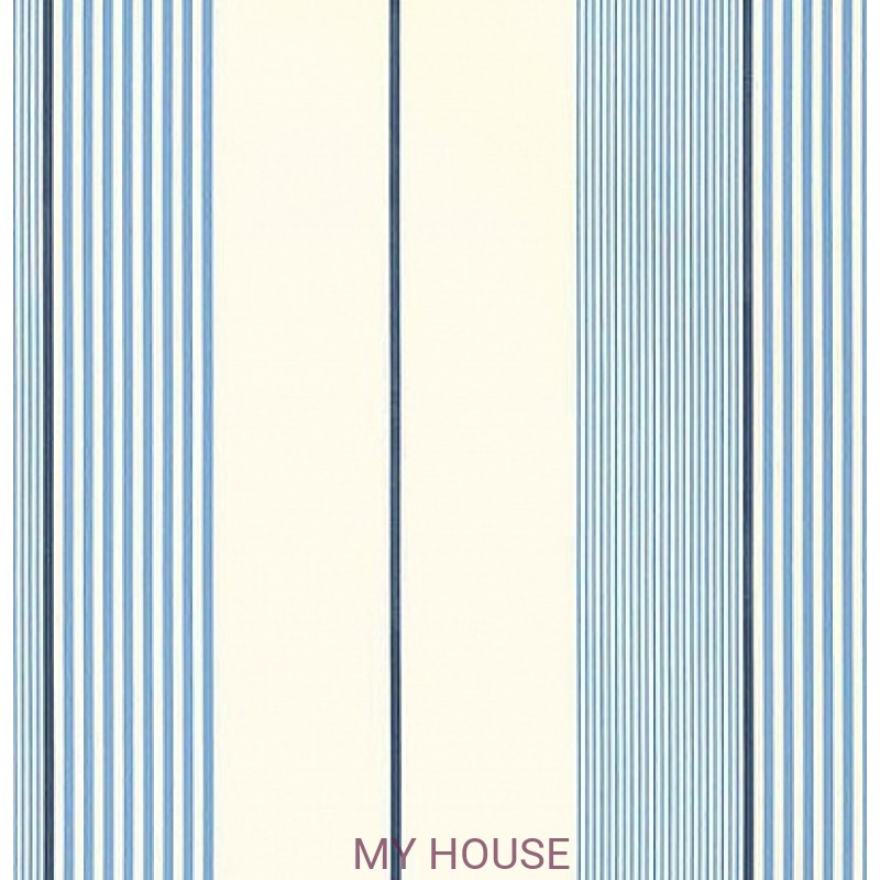 Обои Stripes and Plaids PRL020-04 Aiden Stripe Ralph Lauren
