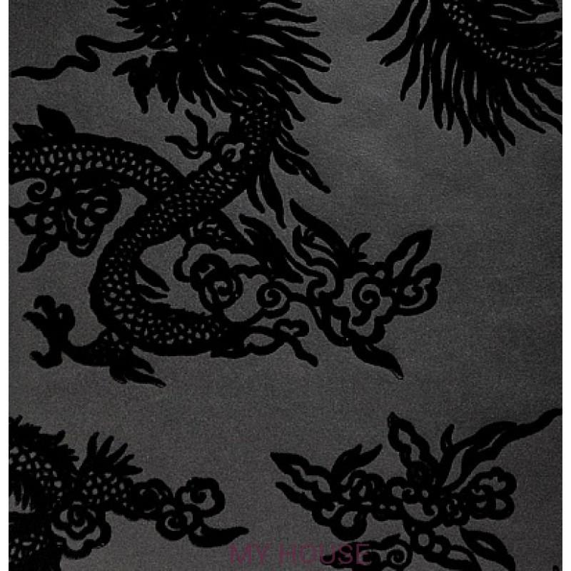 Обои Signature Century Club PRL046/02 Jinping Dragon Caviar Ralp