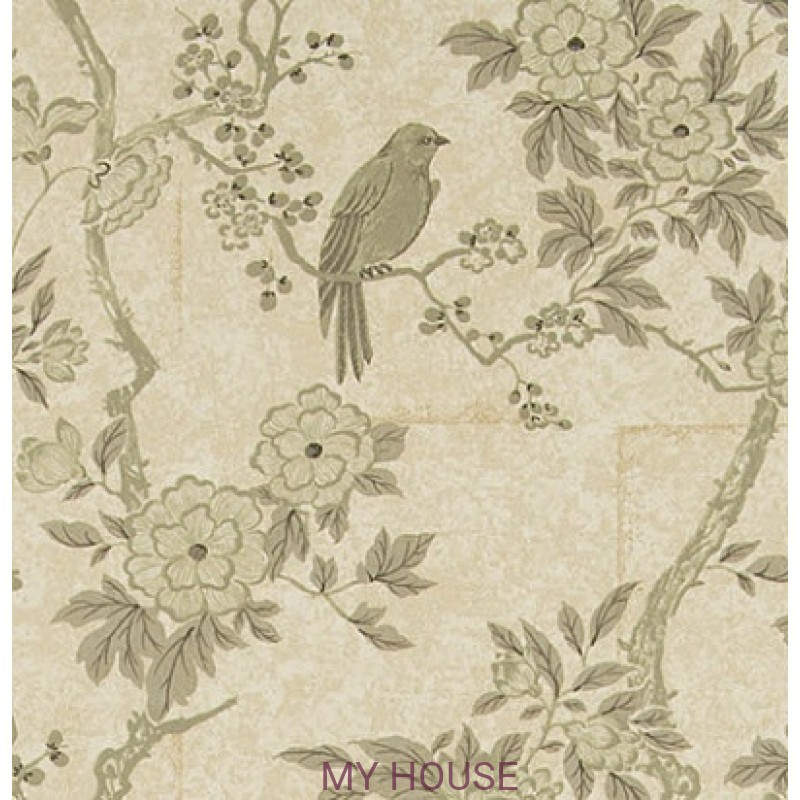 Обои Signature Papers II PRL048/06 MARLOWE FLORAL MOTHER OF PEAR