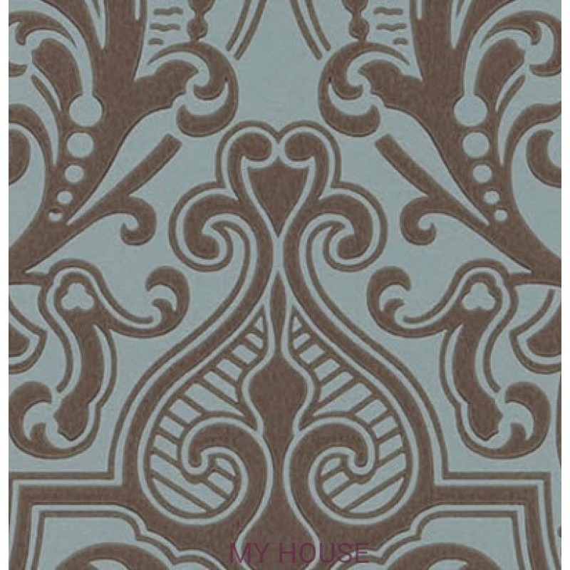 Обои Signature Papers II PRL055/02 GWYNNE DAMASK PEACOCK Ralph L