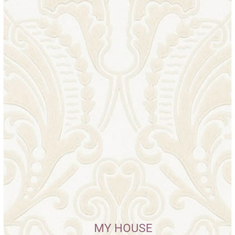 Обои Signature Papers II PRL055/04 GWYNNE DAMASK CREAM Ralph Lau