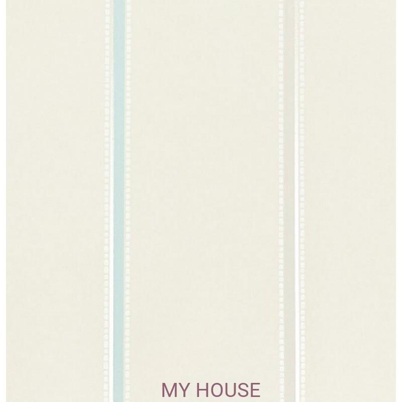 Обои Homes&Gardens II PW78016/9 Tasie Stripe Aqua/Stone/Crea