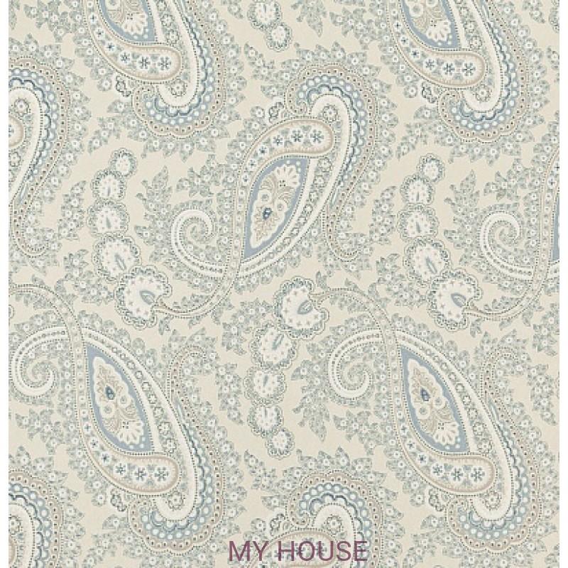 Обои Homes&Gardens II PW78018/2 Kathak Paisley Aqua/Cream Ba