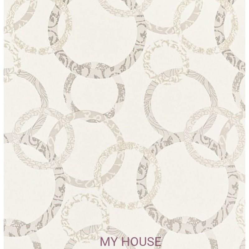 Обои Homes&Gardens II PW78019/1 Roundel Ivory/Stone Baker Li