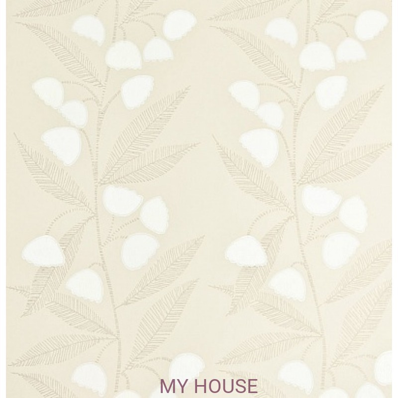 Обои Homes&Gardens II PW78020/4 Bell Flower Stone/Ivory Bake