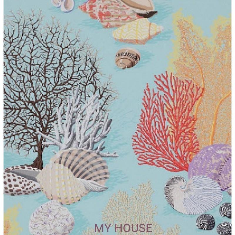 Обои Papier Peints Vol.6 3086/03 Byron Bay Turquoise обои (0,69м