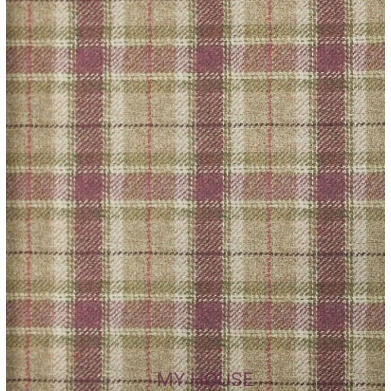 Обои Plaids Wall Art Arrochar Plum Voyage Decoration