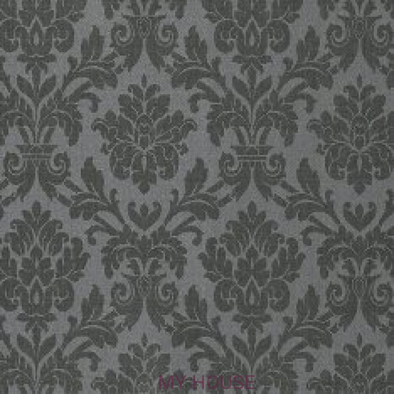 Обои Royal Linen 3300025 Beaune graphite Tiffany