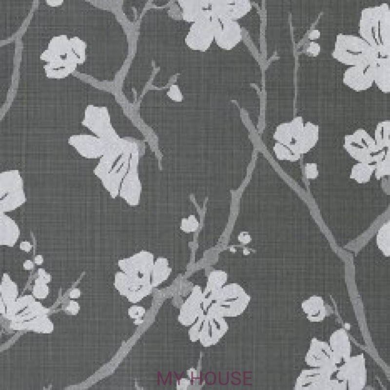 Обои Royal Linen 3300045 Corcelle graphite Tiffany