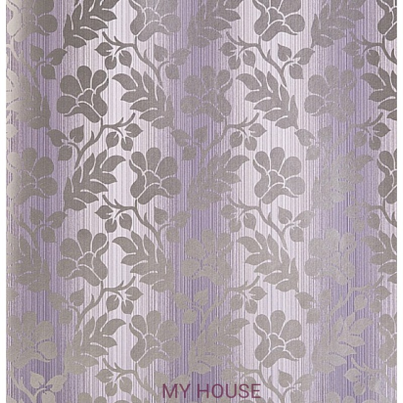 Обои Strie Damask Pattern SDA02006 Opaline Damask-Grey Violet Zo