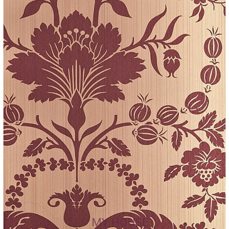 Обои Strie Damask Pattern SDA03006 Pot Pourri Damask-Shaker Rad