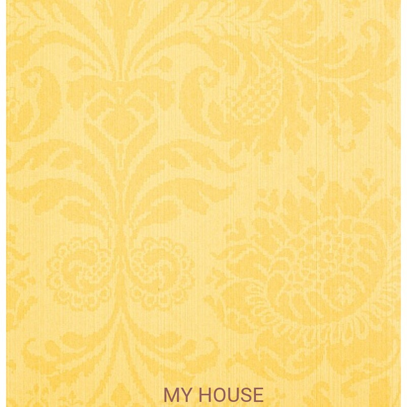Обои Strie Damask Pattern SDA05007 Romany Damask-Vermeer Yellow