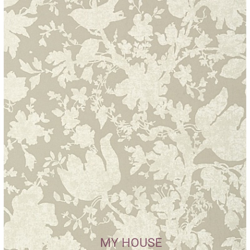 Обои Seraphina AT6040 Garden silhouette Neutral Anna French