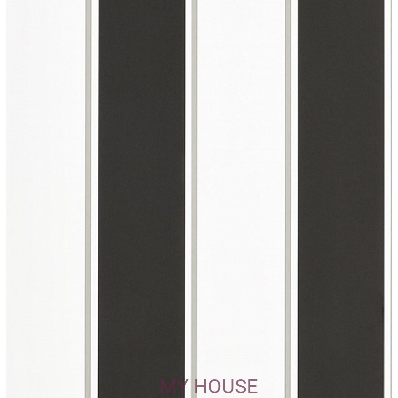 Обои Signature Florals PRL703/05 Mapleton Stripe Carbon Ralph La