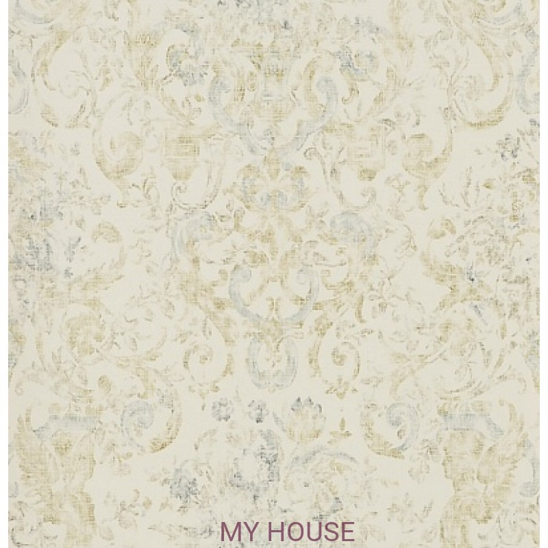 Обои Signature Florals PRL704/01 Old Hall Floral Slate Ralph Lau