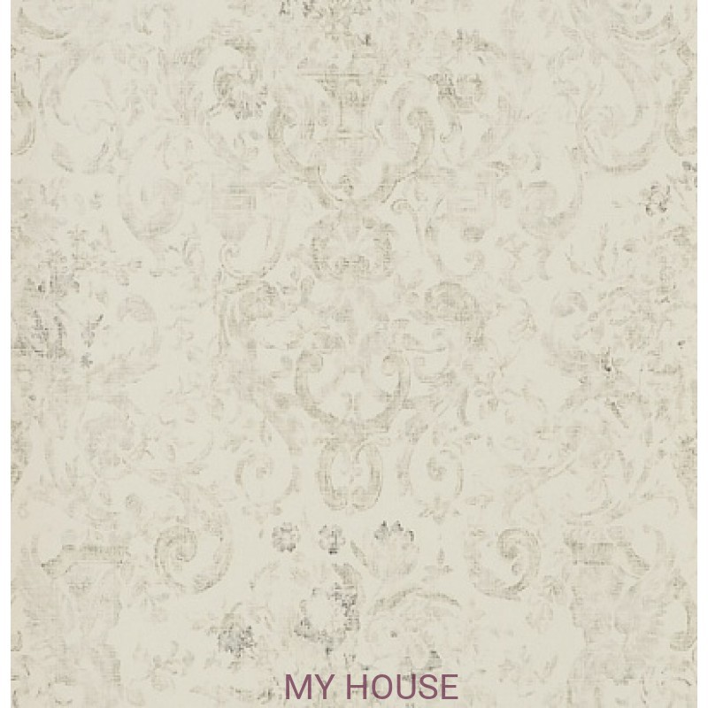Обои Signature Florals PRL704/02 Old Hall Floral Graphite Ralph