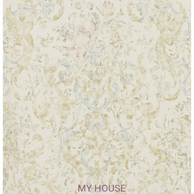 Обои Signature Florals PRL704/05 Old Hall Floral Fresco Ralph La