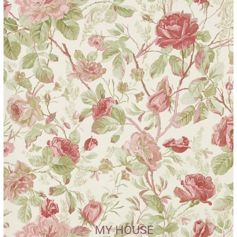 Обои Signature Florals PRL705/02 Marston Gate Floral Pink Ralph