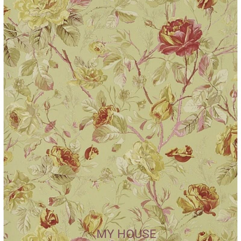 Обои Signature Florals PRL705/04 Marston Gate Floral Celadon Ral