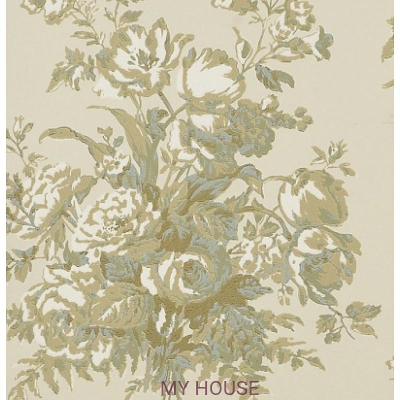 Обои Signature Florals PRL706/01 Frascoise Bouquet Parchment Ral