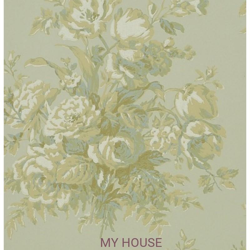 Обои Signature Florals PRL706/02 Frascoise Bouquet Parchment Ral