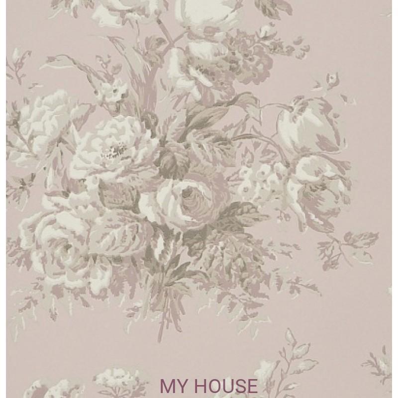 Обои Signature Florals PRL706/03 Frascoise Bouquet Mauveine Ralp