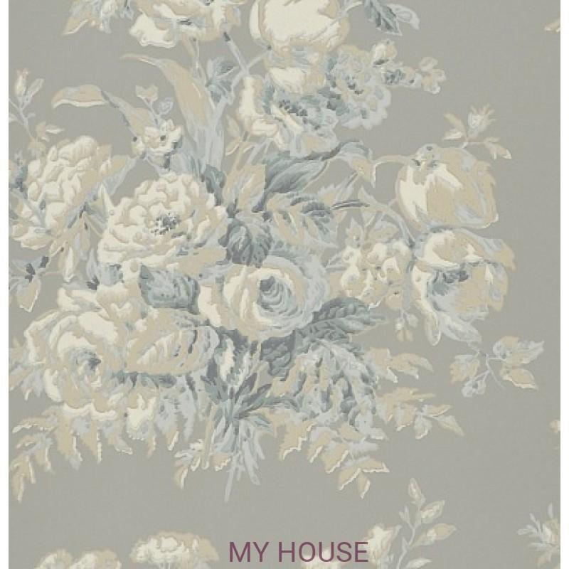 Обои Signature Florals PRL706/06 Frascoise Bouquet Slate Ralph L