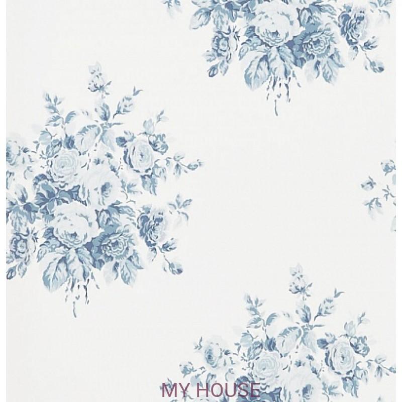 Обои Signature Florals PRL707/01 Wainscott Floral Porcelain Ralp