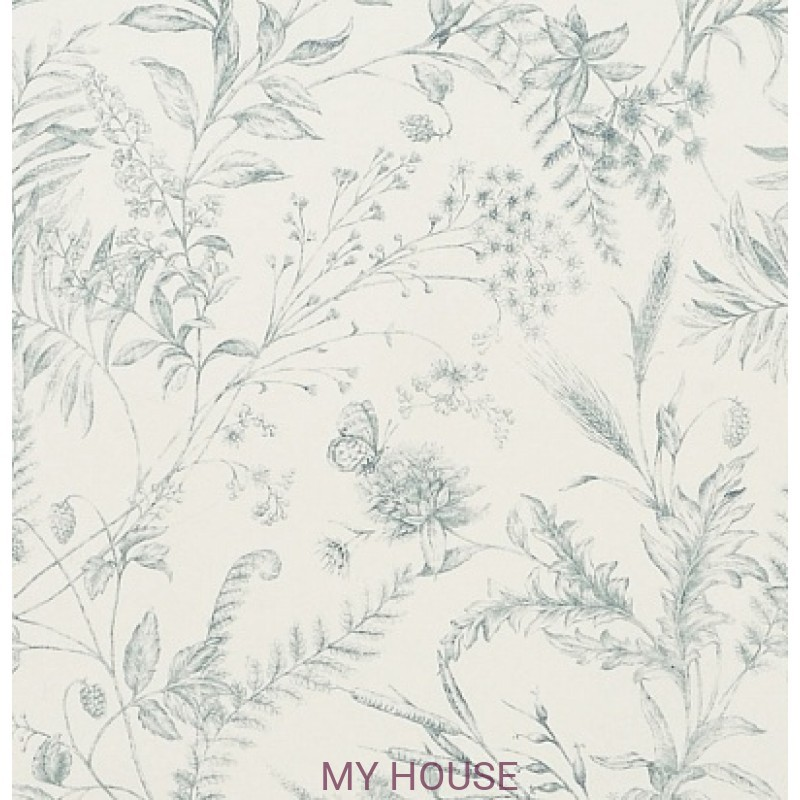 Обои Signature Florals PRL710/01 Fern Toile Drawing Room Ralph L