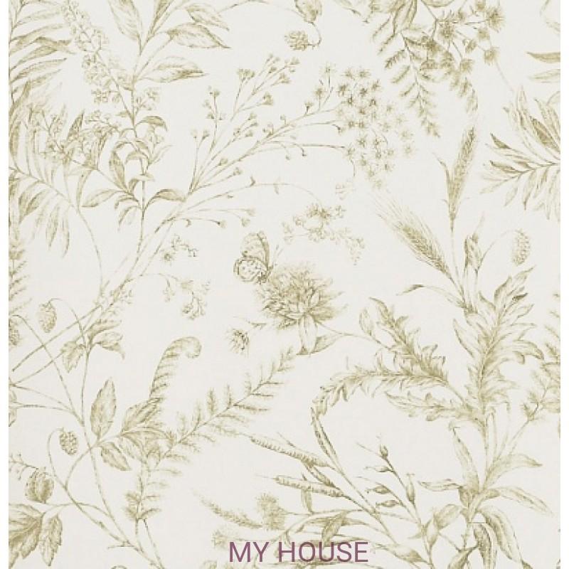 Обои Signature Florals PRL710/05 Fern Toile Meadow Ralph Lauren
