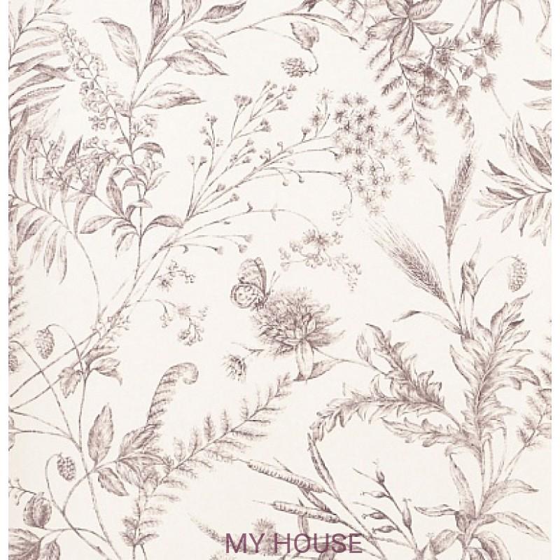 Обои Signature Florals PRL710/06 Fern Toile Blossom Ralph Lauren